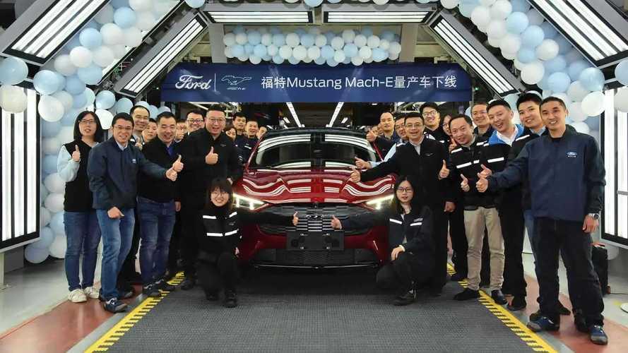Ford начал выпускать электрические «Мустанги» в Китае