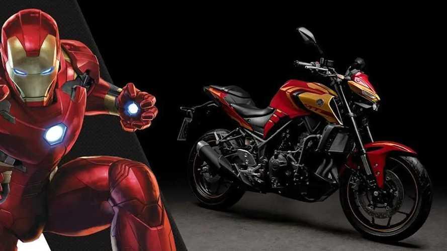 Would Tony Stark Ride This Iron Man Edition Yamaha MT-03?