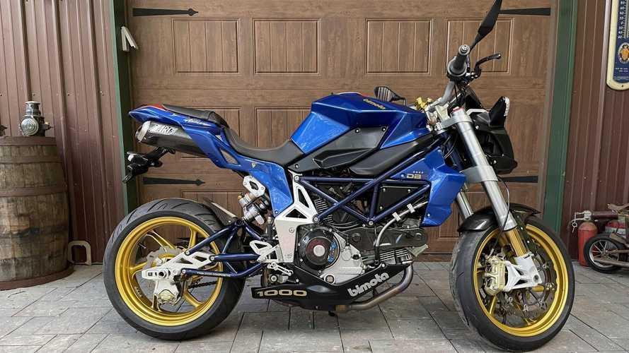 This 2007 Bimota DB6 Delirio Azzurro Is Molto Bello, Could Be Yours