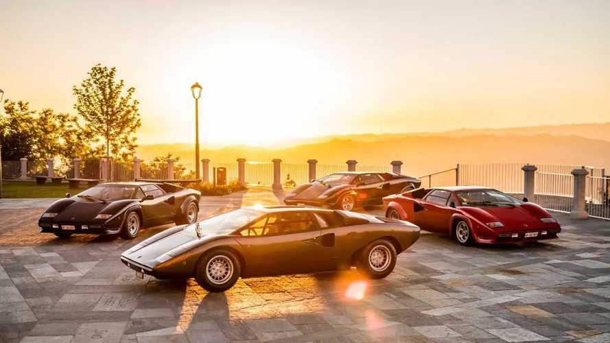 Lamborghini Countach: 50 Jahre im Rückblick mit Video