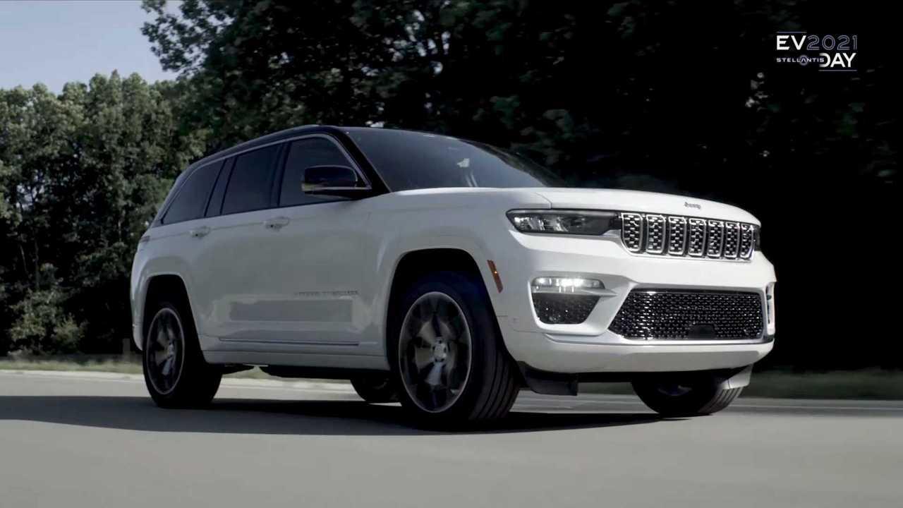 Jeep Stellantis EV Day Video Grand Cherokee 4xe