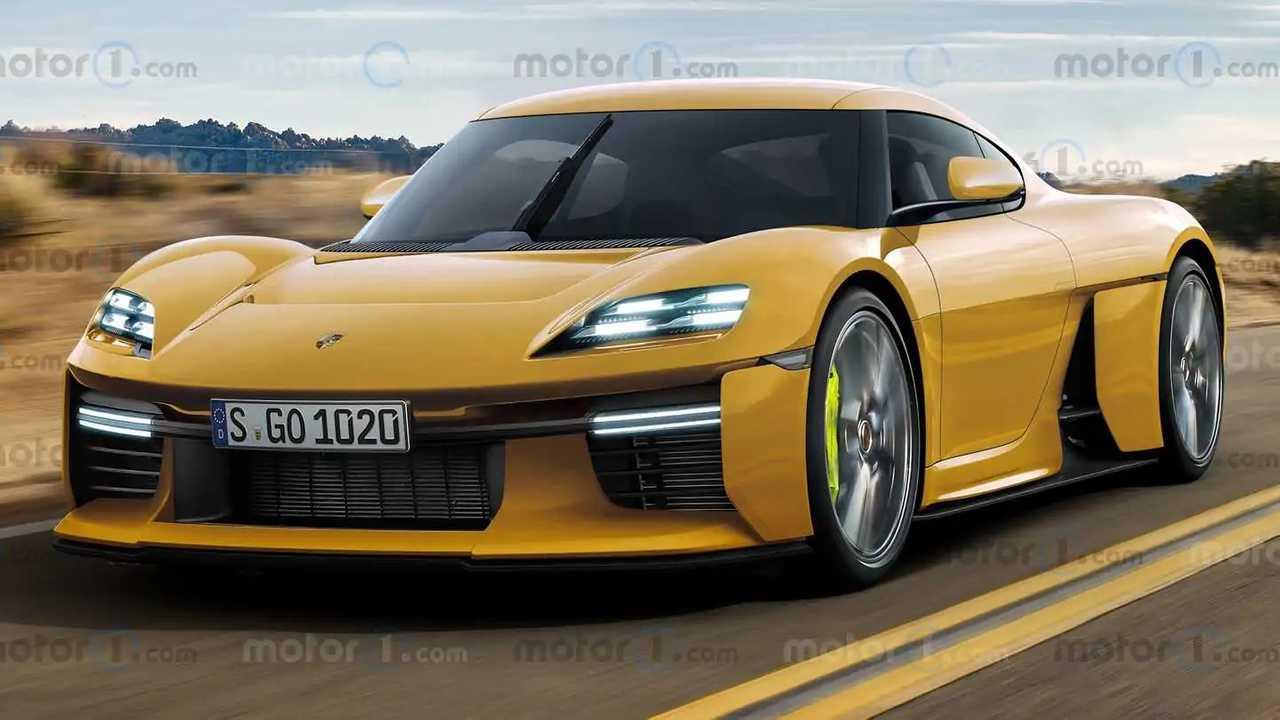 Porsche Mission R renderları.