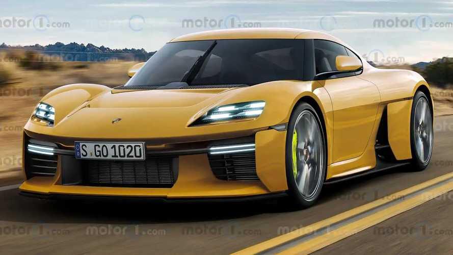 Porsche Mission R'nin resmi olmayan renderlarına göz atın
