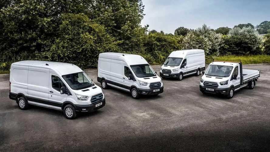 Ford E-Transit: Tests als Van, Doppelkabine und Fahrgestell