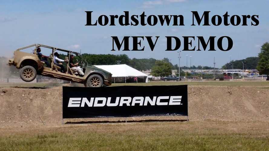 Lordstown Motors Working On A Military Electric Vehicle Too