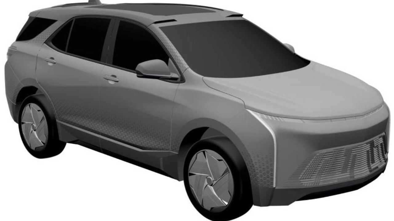 Electric Or Hybrid Chevy Equinox Patent Hints At New GM EV Future