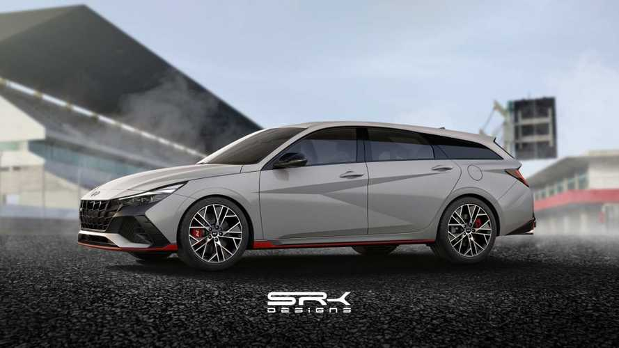 Hyundai Elantra N Dapat Makeover Wagon dalam Rendering Tak Resmi