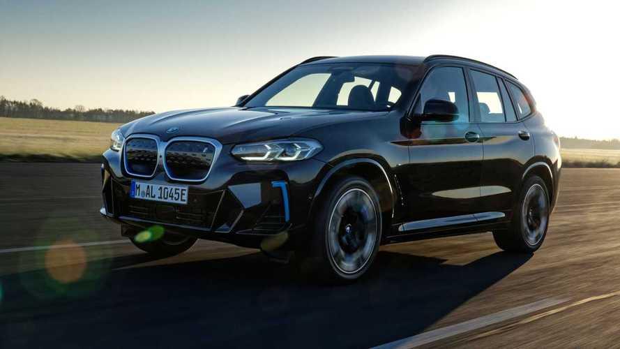 BMW iX3 2022: ligeros cambios estéticos y mejor equipado