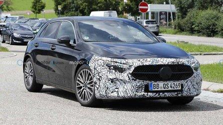 Mercedes A-Class facelift spied not hiding much