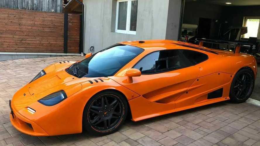 Eladó egy McLaren F1-nek álcázott Porsche Boxster