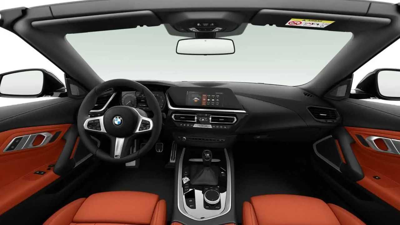 BMW Z4 sDrive20i with manual gearbox