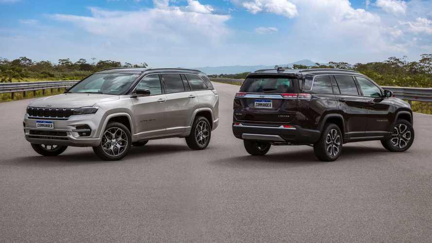 Jeep lança novo Commander 2022: veja versões, itens e preços