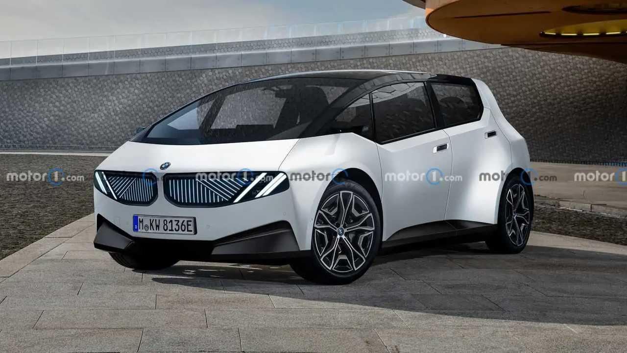 Next-gen BMW i3 rendered