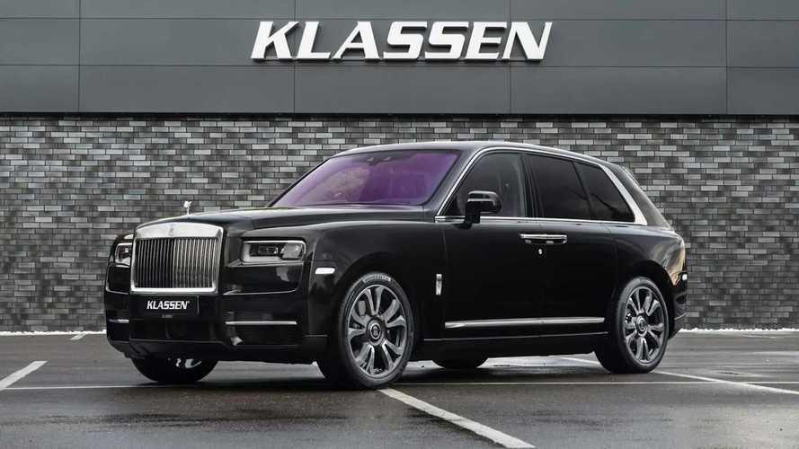 Así es el Rolls-Royce Cullinan blindado de Klassen