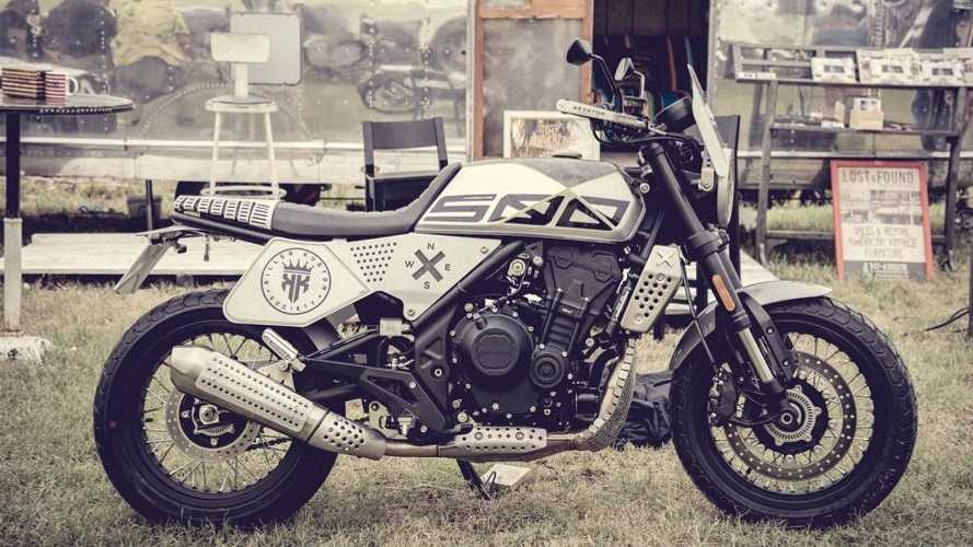 Brixton Crossfire 500 Earns New Flat Track-Inspired Bolt-On Kit