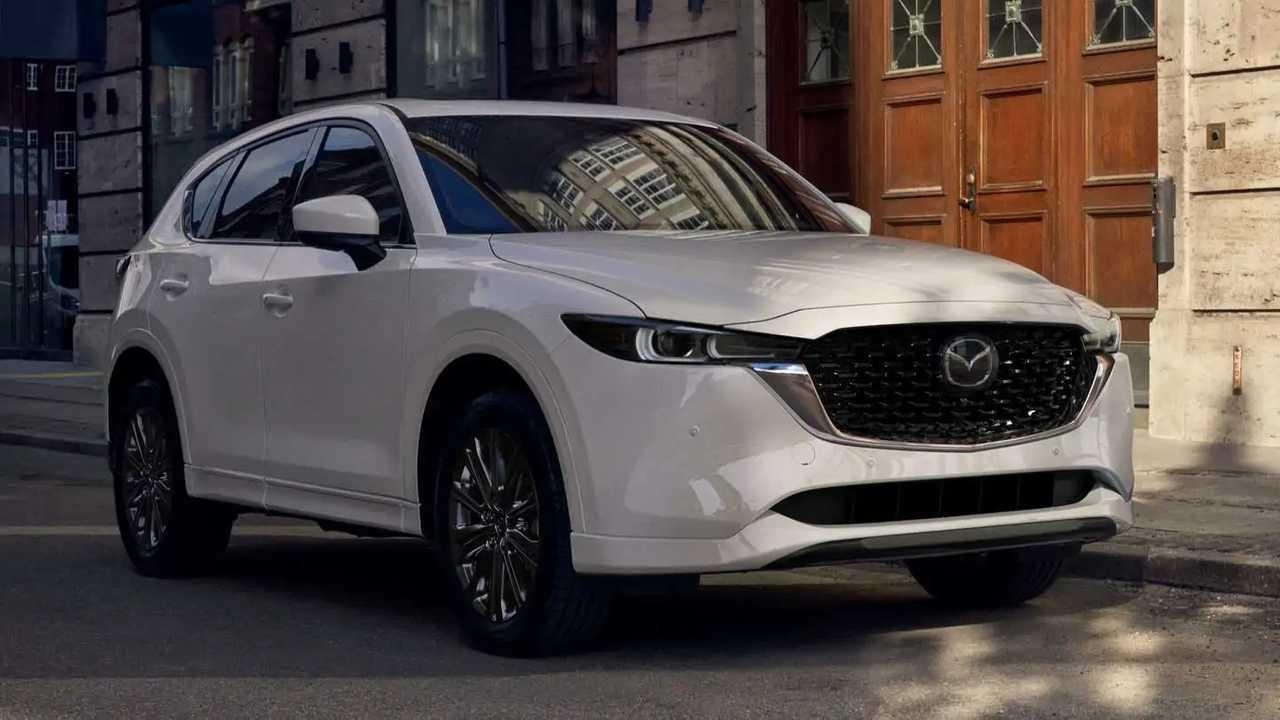 2022 Mazda CX-5.