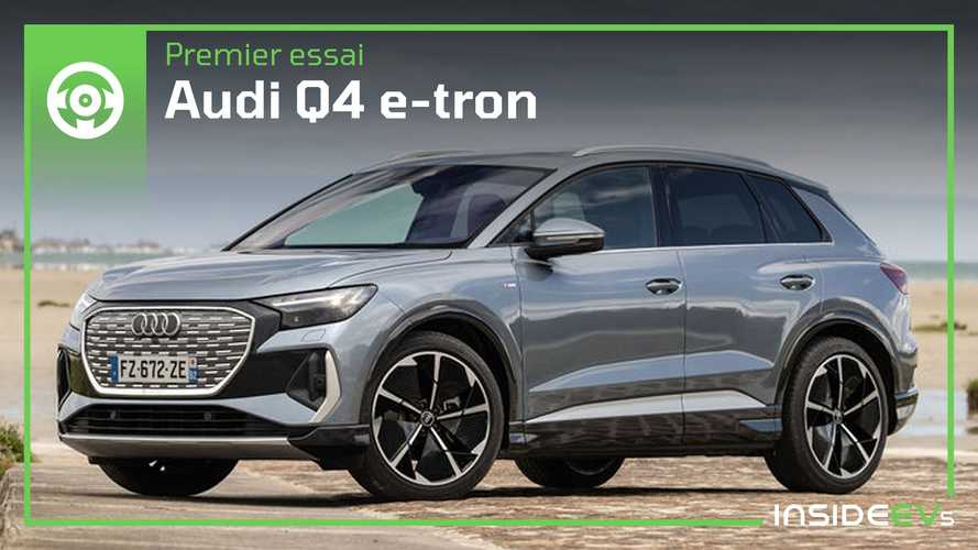 Essai Audi Q4 e-tron - Au volant des 40 et 50 e-tron