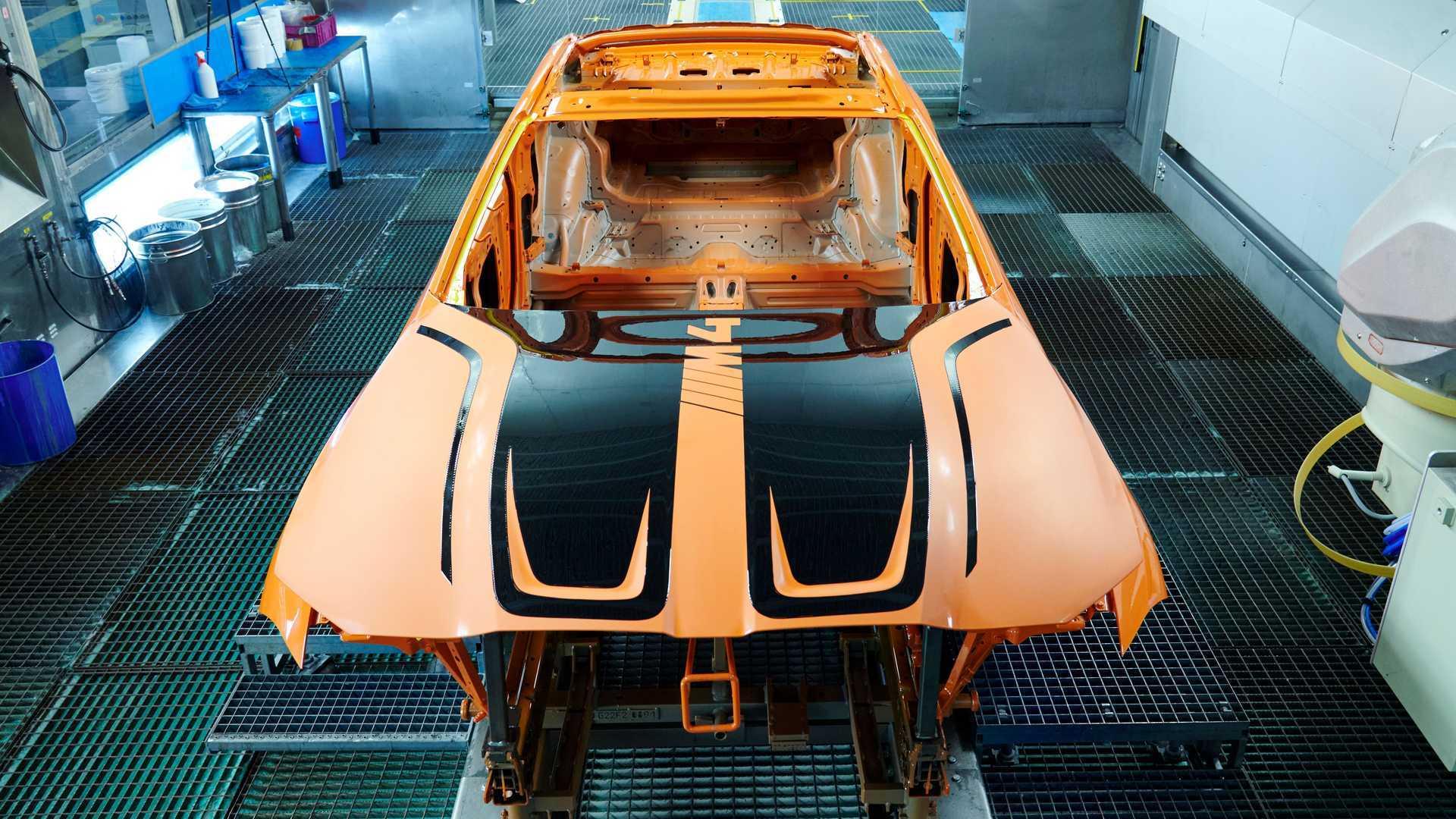 Con juego de nariz BMW M4 EcoPaintJet Pro