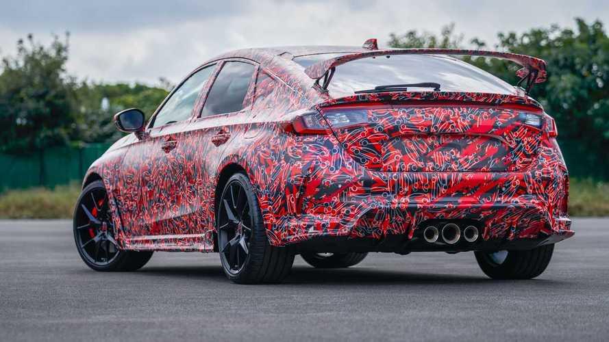 Honda Civic Type R (2022) - Les premières photos