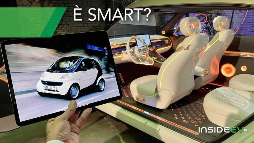 La nuova smart?  È il meglio di due mondi: stile europeo, elettrico cinese