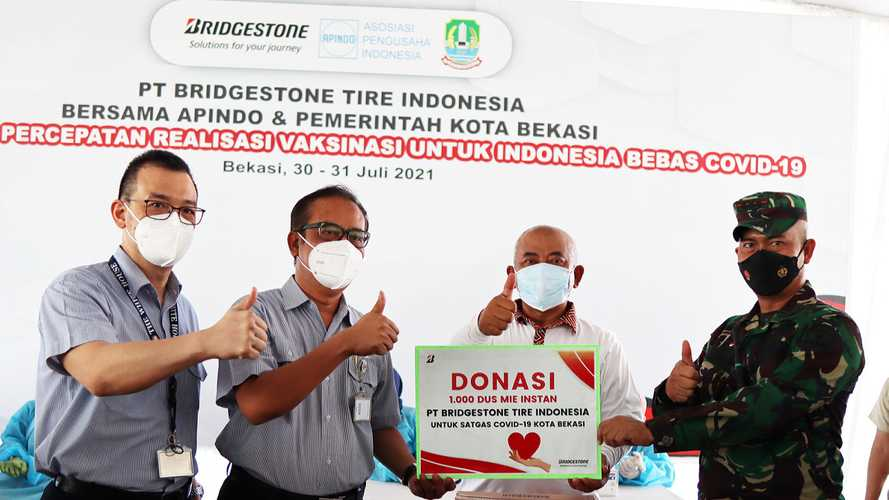 Bridgestone Gelar Vaksinasi Covid untuk Karyawan Sekota Bekasi