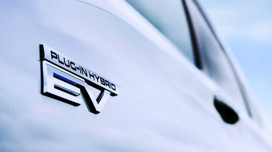 Тизеры нового Mitsubishi Outlander PHEV