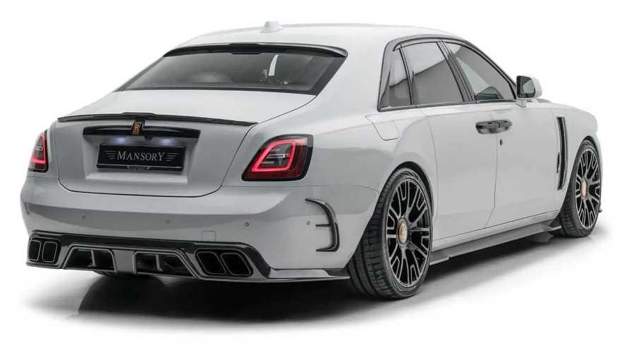 Rolls-Royce Ghost par Mansory