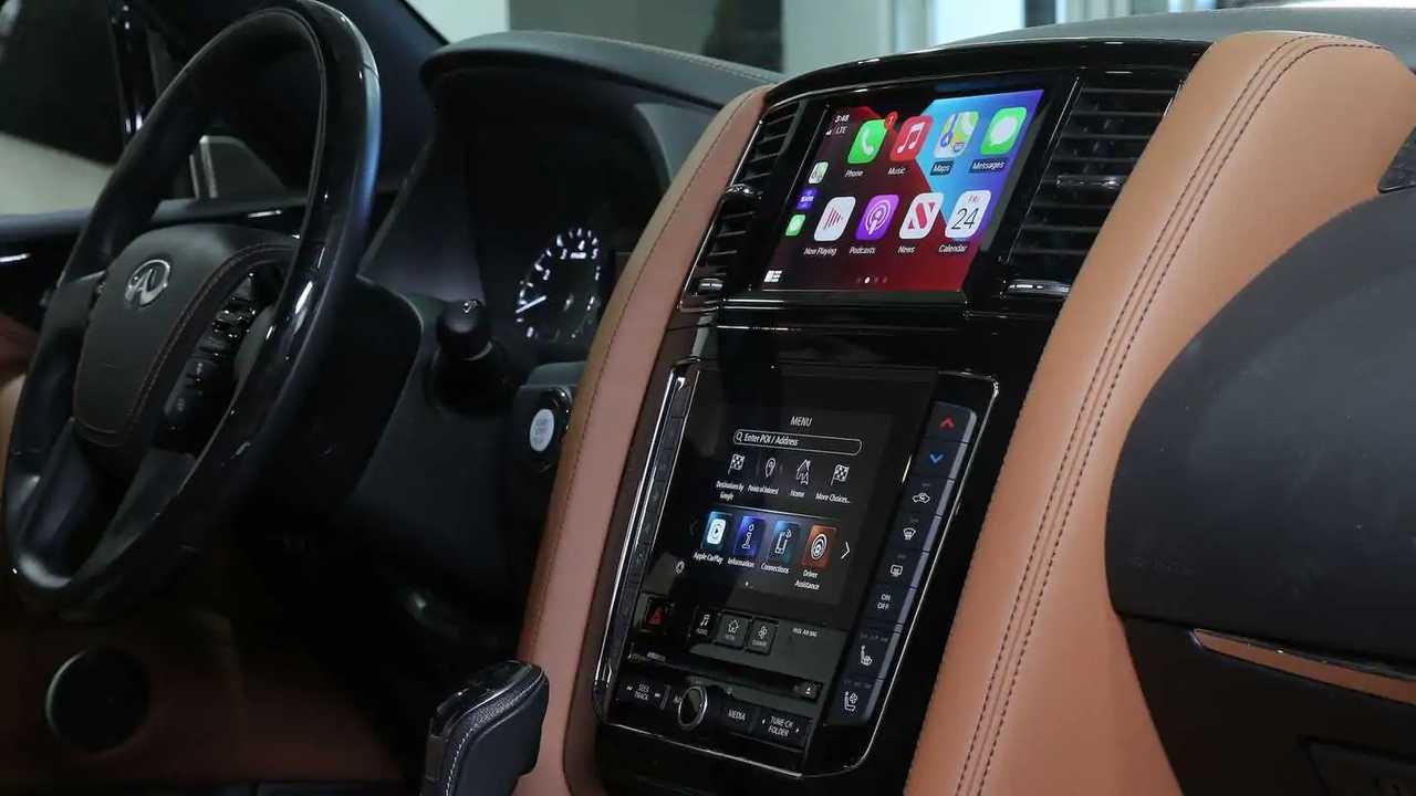 Infiniti Free Wireless Apple CarPlay Update