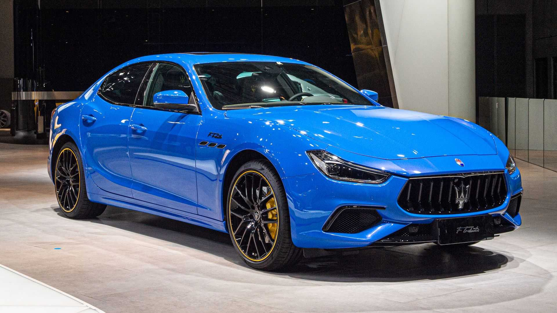 Maserati Ghibli F Tributo Special Edition