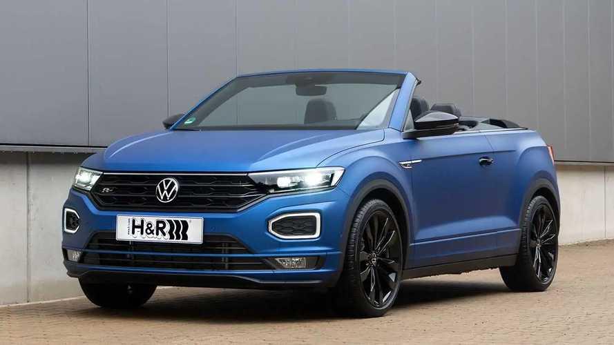 H&R-Sportfedern für das VW T-Roc Cabriolet