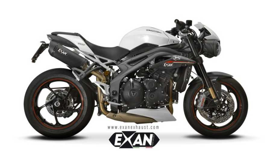 Triple Treat: Exan Made Three Pipes For The Triumph Speed Triple