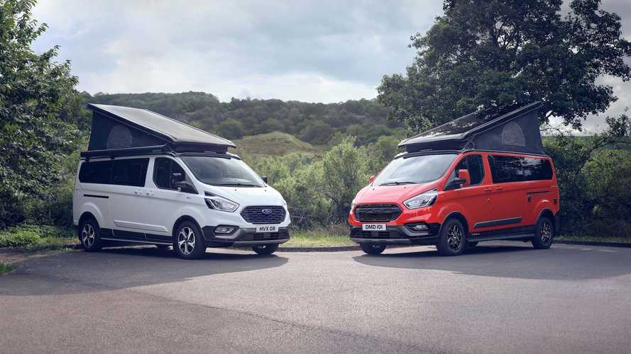 Ford Transit Custom Nugget Active And Trail