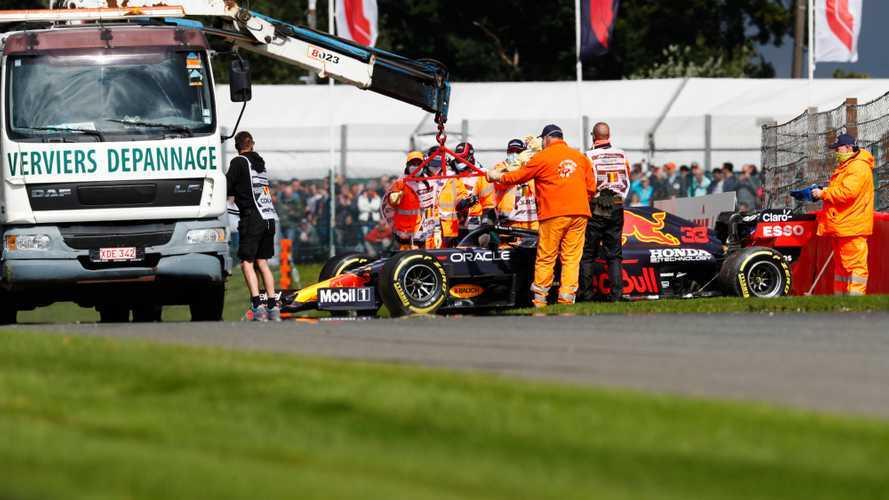 Verstappen 'very happy' with F1 car feeling despite FP2 crash