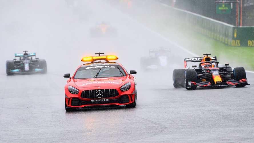 2021 Belçika GP: Başlatılamayan yarışı Verstappen kazandı