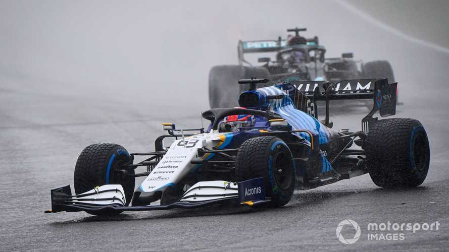 Russell: 'Doesn't matter' how maiden F1 podium arrived