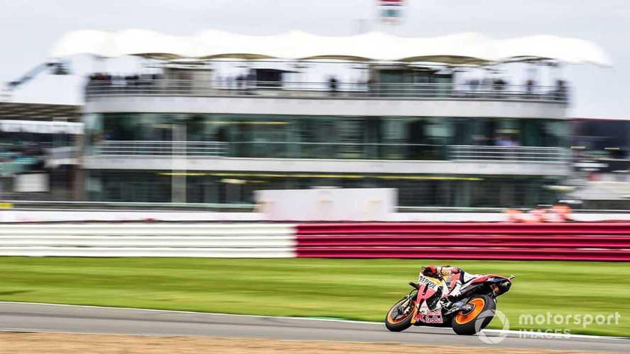 Marc Marquez at British GP 2021