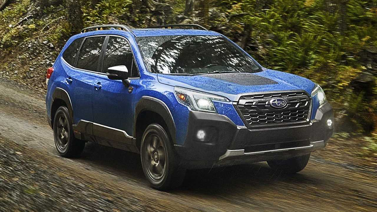 2022 Subaru Forester Wilderness leaked before debut.