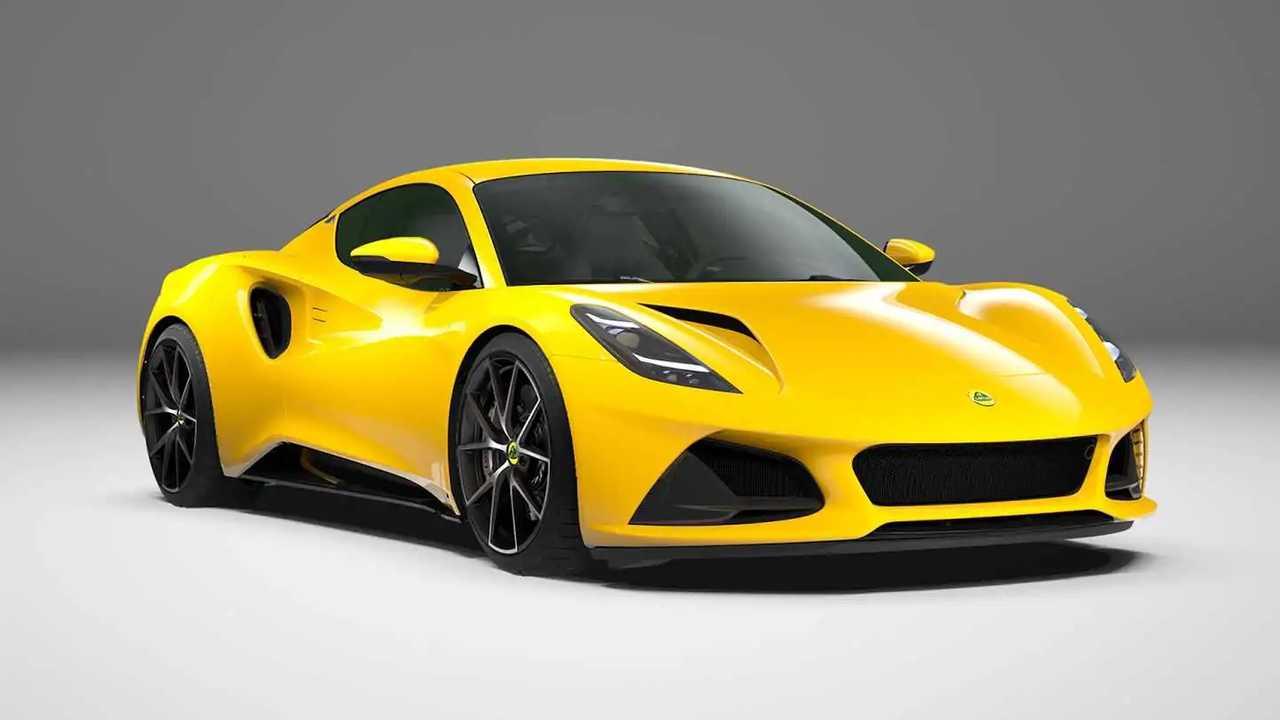 Lotus Emira First Edition Hethel Yellow