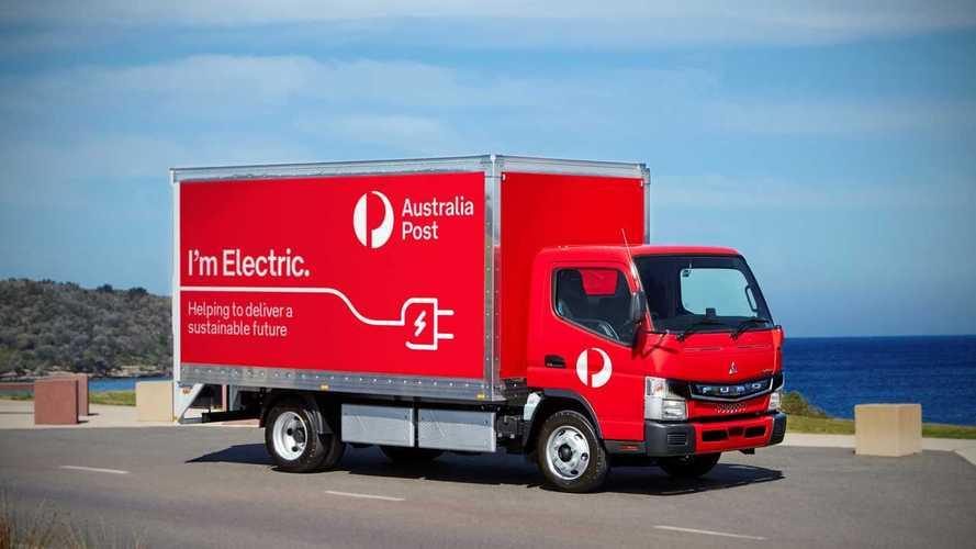Autocarri elettrici, le poste australiane arruolano Fuso eCanter