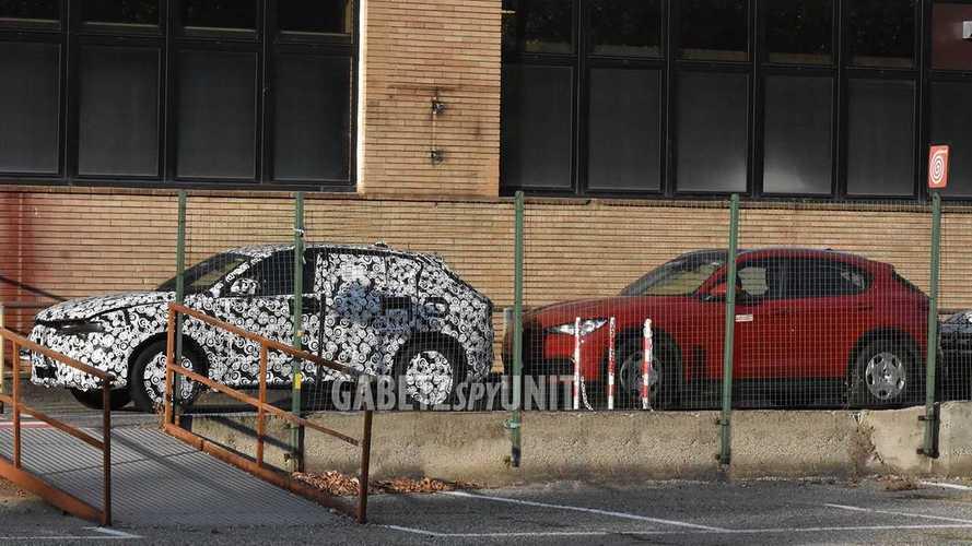 Alfa Romeo Tonale ve Stelvio yan yana görüntülendi