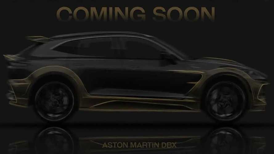 Mansory Teases Wild New Body Kits For 911, Aston Martin DBX