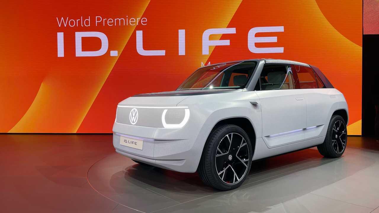 VW ID.Life: Studie eines Kleinwagen-Crossovers