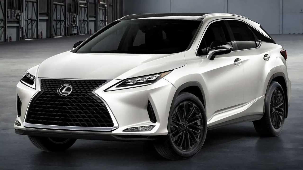 Lexus announces RX Black Line for the 2022 model year.