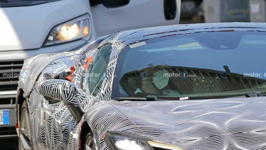 Ferrari 296 GTS photos espion