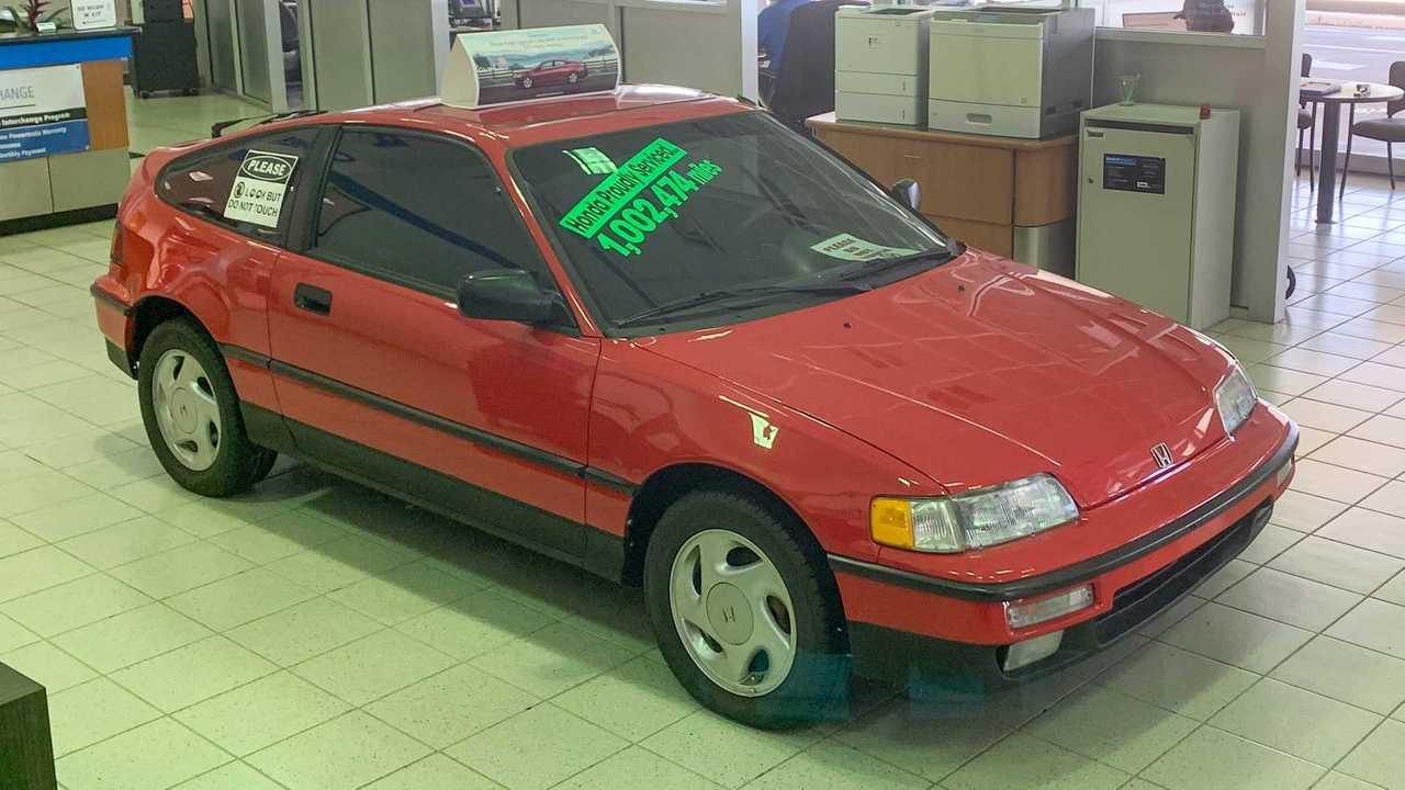 Honda CRX con 1,6 millones de kilometros