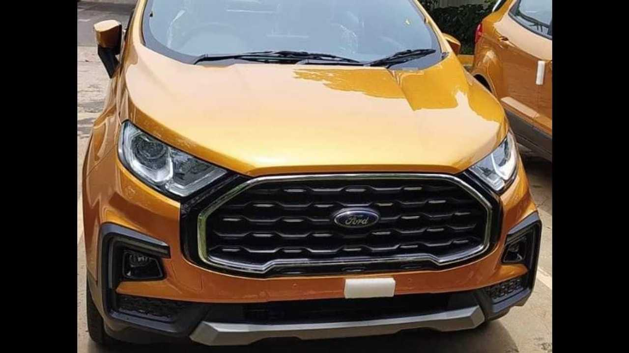 Ford Ecosport 2022 facelift India