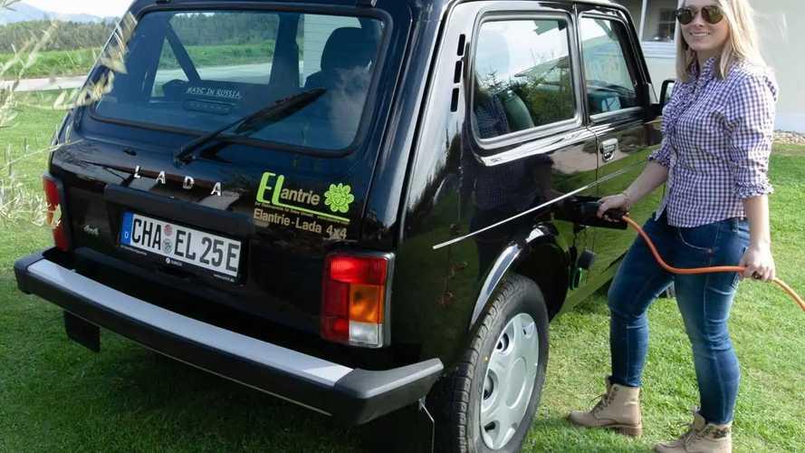 В Германии за 240 000 рублей можно сделать из «Нивы» электрокар