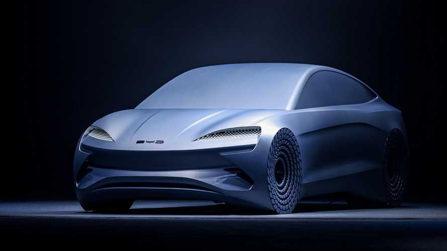 BYD Launches e-Platform 3.0 And Unveils Ocean-X Concept