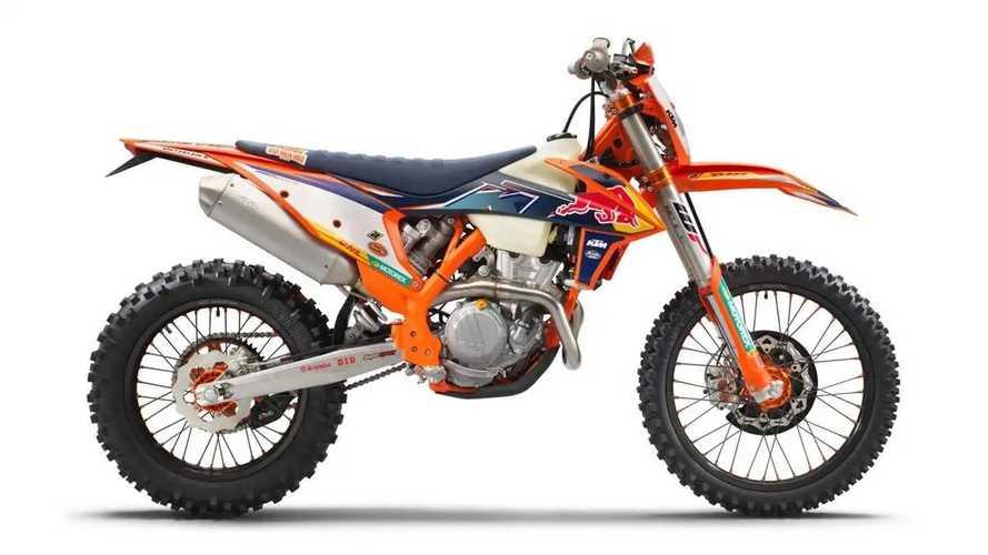 KTM Rilis Sepeda Motor Enduro 350 EXC-F 2022 Factory Edition