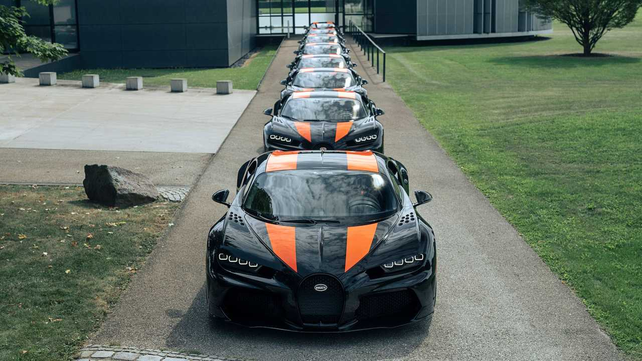 First Batch Of Bugatti Chiron Super Sport 300+ Ready For Delivery